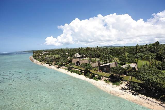 斐济First landing度假村表演