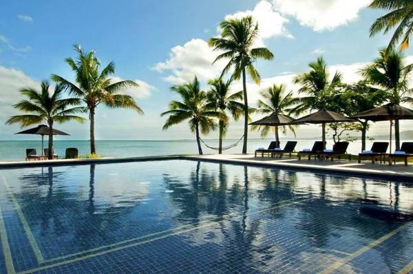 斐济海滩希尔顿度假酒店泳池