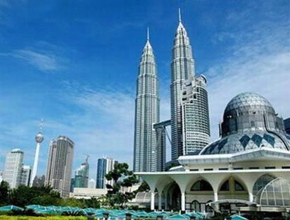 新马五天游景点_马来西亚吉隆坡双峰塔