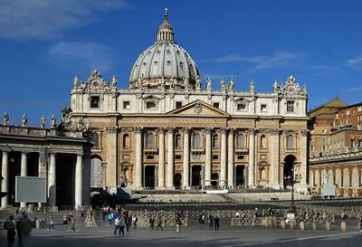 东西欧14 天九国游景点_梵蒂冈圣彼得大教堂
