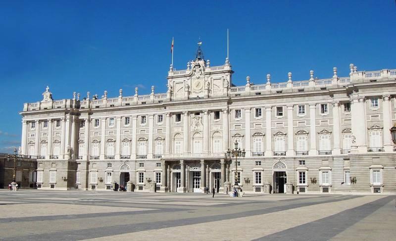 欧洲2国游_欧洲旅游景点_西班牙马德里王宫