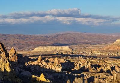土耳其12天全景游:土耳其卡帕多奇亚风光