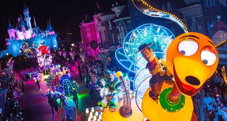 香港精彩观光 迪士尼乐园两日游