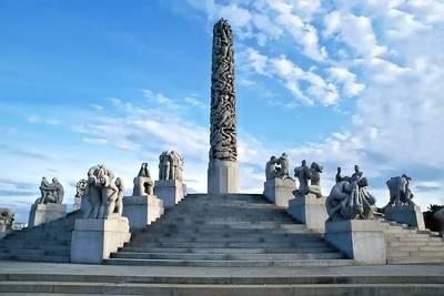 北欧4国游景点_挪威维格兰雕塑公园