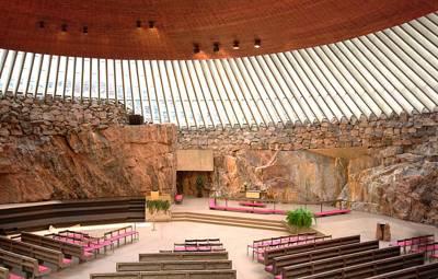 北欧、冰岛12天游:芬兰岩石教堂