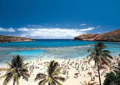美国、加拿大、夏威夷全景26天:美国夏威夷恐龙湾海滩