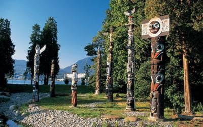 加拿大温哥华+班夫9天之旅景点_加拿大史坦利公园