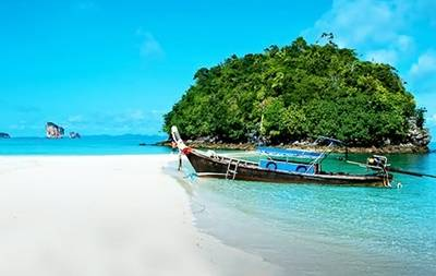 泰国7天游_泰国甲米岛海滩
