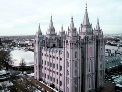 美国东西岸15天_美国盐湖城摩门圣殿