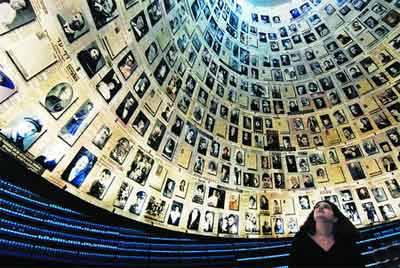 以色列约旦 10天游:以色列耶路撒冷-大屠杀纪念馆