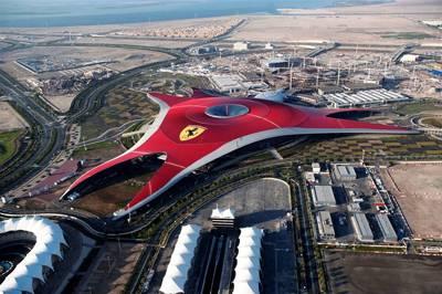 迪拜6天游:阿联酋阿布扎比法拉利主题公园