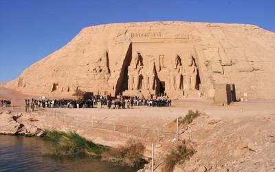 埃及10天游景点_埃及阿布辛贝神庙