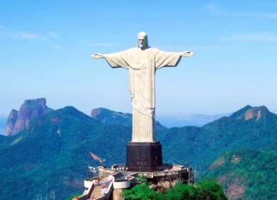 南美3国14天:巴西耶稣伸手巨像