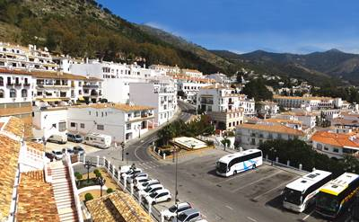 欧洲2国游_欧洲旅游景点:西班牙小镇米哈斯