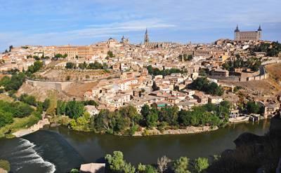西班牙葡萄牙旅游十日:西班牙杜丽多古城