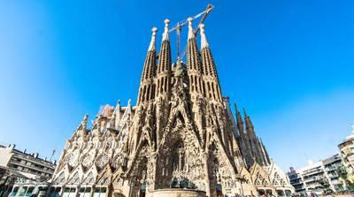欧洲2国游_欧洲旅游景点:西班牙圣家族大教堂