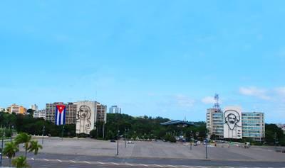北美两国游_古巴哈瓦那-革命广场