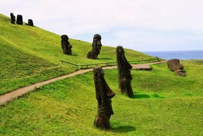 南美四国游_智利复活节岛