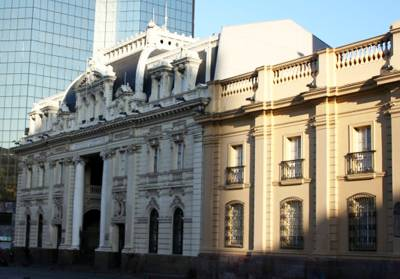 美洲旅游景点_智利圣地亚哥-中央邮局