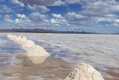南美旅游景点_玻利维亚无尤尼-盐湖