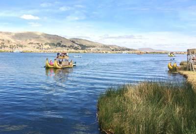 南美旅游景点_秘鲁的的喀喀湖