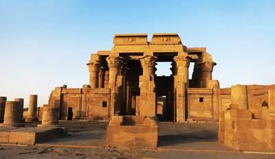 埃及10日游景点_孔翁坡神庙