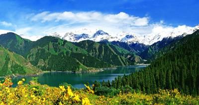 新疆8天游景点_新疆天山天池