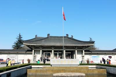 西安旅游景点_陕西历史博物馆