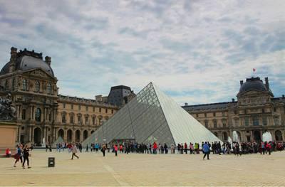 欧洲四国游_法国卢浮宫博物馆