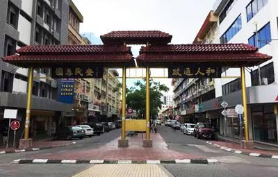 沙巴五天游_马来西亚沙巴加雅街