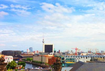 欧洲六国游景点-德国慕尼黑玛利亚广场