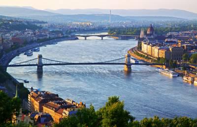 欧洲六国游景点_匈牙利布达佩斯-多瑙河湾
