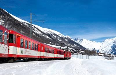 瑞士10天游_瑞士冰川快车