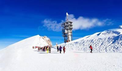 欧洲四国游_瑞士铁力士雪山
