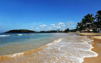 斯里兰卡八天游_斯里兰卡南部海岸海滩