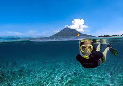 美娜多五天游_美娜多布纳肯海洋保护区浮潜