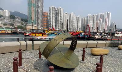 香港迪士尼乐园两日游_香港仔避风塘鸭脷洲风之塔公园