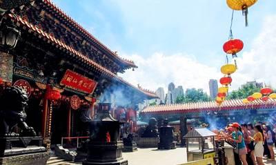 香港海洋公园二日游景点_黄大仙