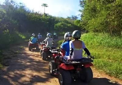 塞班岛六天游_塞班ATV越野车丛林探险