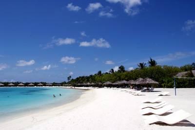 马尔代夫梦幻岛chaaya island dhonveli六天四晚自由行,2晚高级房 2晚