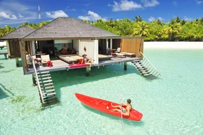 马尔代夫天堂岛水上活动