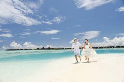 享受马尔代夫悠闲浪漫时光