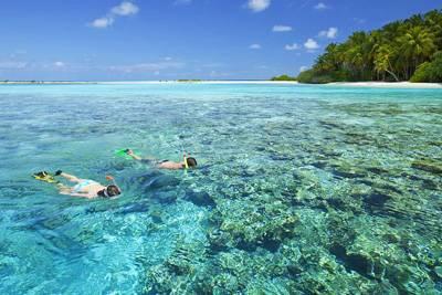 马尔代夫康杜玛岛享受美好时光