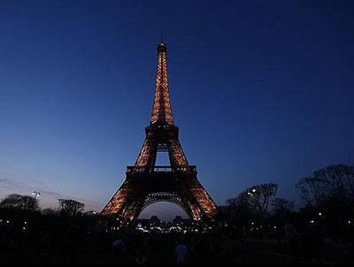 欧洲十一国游景点艾菲尔铁塔
