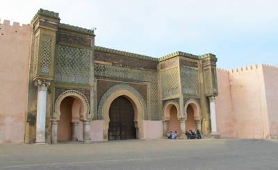 摩洛哥8天游_摩洛哥曼索尔城门