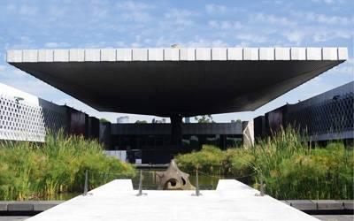 北美两国游_墨西哥国家人类学博物馆