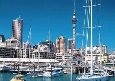 新西兰8天游_奥克兰风光
