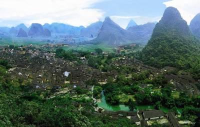 广西二天游:广西贺州黄姚古镇