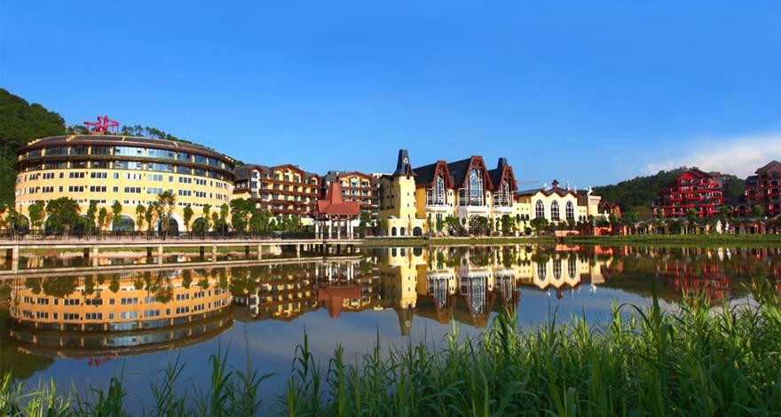 色彩缤纷的德国风情小镇河源巴伐利亚温泉二天游AQ THZJ
