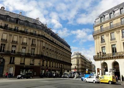 欧洲十国12天游:法国巴黎-奥斯曼大街